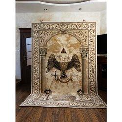 Masonic carpet 6
