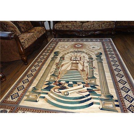 Masonic carpet 4