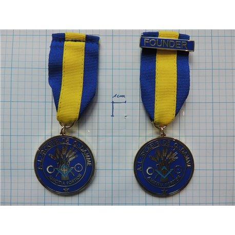 Loge medaille 3