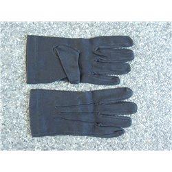 Zwarte katoenen handschoenen