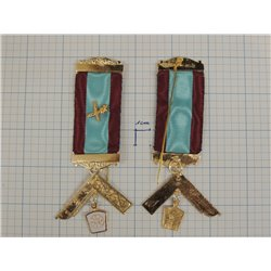 Masonic mark past masters breast jewel