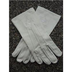 Gants de cotton blanc E&C blanc new size