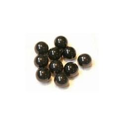 balles noir 10 pièces