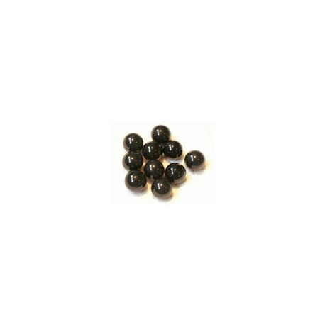 Balls black 10 pieces