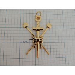 Collar jewel master of ceremonies