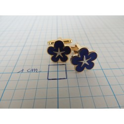 Cufflinks forget-me-not