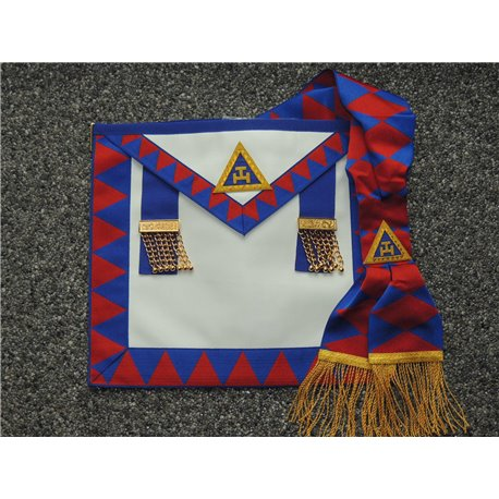 Apron and sash RA prov set