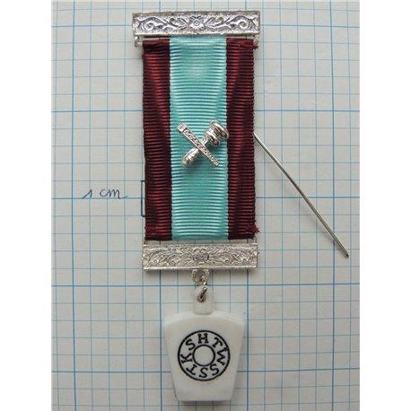 Masonic mark member breast jewel