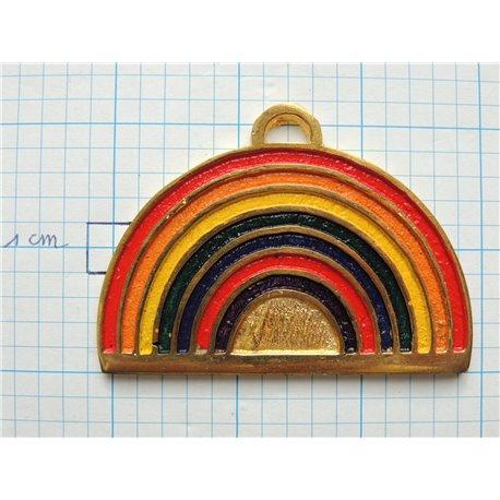 Masonic rainbow collar jewel