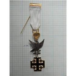 Red cross of Constatine commander breast jewel