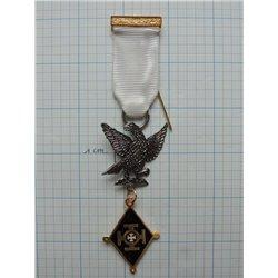 Red cross of Constatine past commander breast jewel