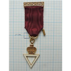 Royal and select masters members breast jewel